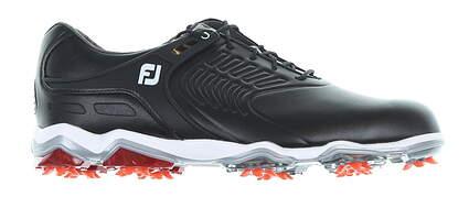 New Mens Golf Shoe Footjoy Tour-S 10.5 Medium Black/White/Red 55304 MSRP $200