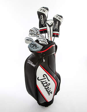 Titleist 718 AP3 TS2 Complete Golf Club Set Driver Fairway Hybrid Irons Wedges Bag Right Handed Stiff MSRP $3,319.93