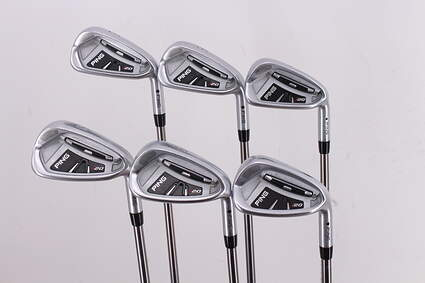 Ping I20 Iron Set 5-PW Ping TFC 169I Graphite Stiff Right Handed Black Dot 39.0in