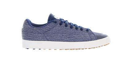 New Mens Golf Shoe Adidas Adicross Classic Medium 9.5 Blue/White F33797 MSRP $100