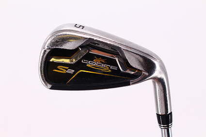 Cobra S2 Single Iron 5 Iron Nippon NS Pro 1030H Steel Stiff Right Handed 38.75in