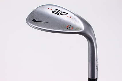 Nike SV Tour Chrome Wedge Lob LW 60° 10 Deg Bounce True Temper Dynamic Gold SV S400 Steel Stiff Right Handed 34.75in