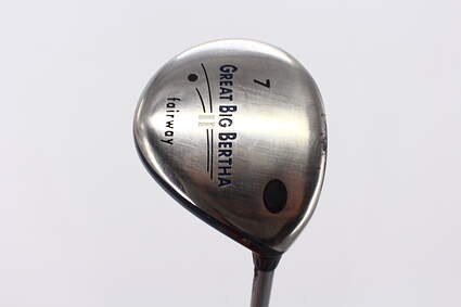 Callaway Great Big Bertha II Fairway Wood 7 Wood 7W 21° Callaway GBB System 60 Graphite Light Right Handed 41.75in