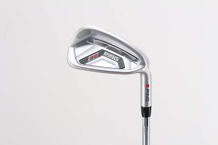 Mint Ping I25 Single Iron 7 Iron Ping CFS Steel Stiff Right Handed Red dot 36.75in