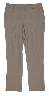 New Womens Fairway & Greene Cropped Pants 8 Tan I12183 MSRP $115