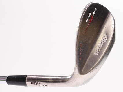 Mizuno MP-R Chrome Wedge Sand SW 56° 10 Deg Bounce True Temper Dynamic Gold Steel Wedge Flex Right Handed 35.5in