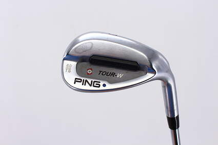 Ping Tour-W Brushed Silver ThinSole Wedge Sand SW 60° Thin Sole Ping Z-Z65 with Cushin Insert Steel Stiff Right Handed Blue Dot 35.5in