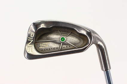 Ping ISI Single Iron 6 Iron Ping JZ Steel Stiff Right Handed Green Dot 37.5in
