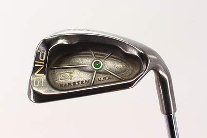 Ping ISI Single Iron 9 Iron Ping JZ Steel Stiff Right Handed Green Dot 36.0in