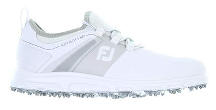 New Mens Golf Shoe Footjoy SuperLites XP Medium 10 White 58062 MSRP $100