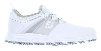 New Mens Golf Shoe Footjoy SuperLites XP Medium 11 White 58062 MSRP $110