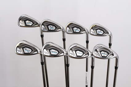 Callaway Rogue Iron Set 5-PW GW SW UST Mamiya Recoil 780 ES Graphite Stiff Right Handed 38.75in