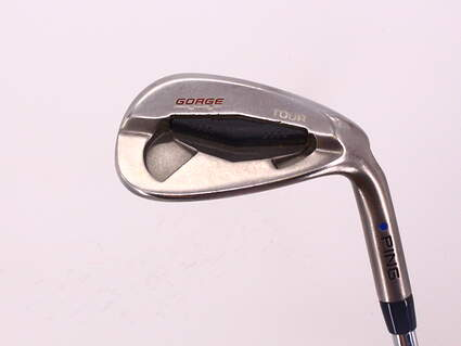 Ping Tour Gorge Wedge Gap GW 52° Standard Sole Ping CFS Steel Stiff Right Handed Blue Dot 35.75in