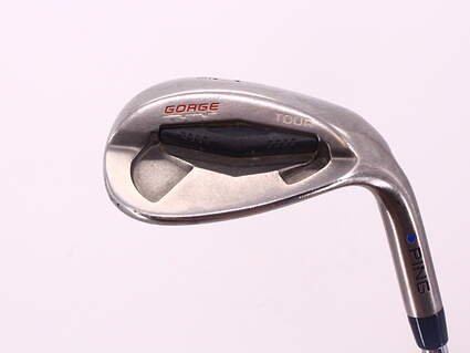 Ping Tour Gorge Wedge Lob LW 60° Wide Sole Ping CFS Steel Stiff Right Handed Blue Dot 35.25in