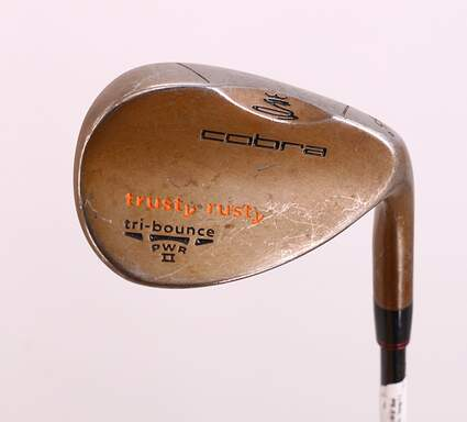 Cobra 2012 Trusty Rusty Rust Finish Wedge Sand SW 55° Stock Steel Shaft Steel Wedge Flex Right Handed 35.25in