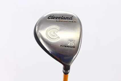 Cleveland Launcher Titanium Fairway Wood 7 Wood 7W 25° UST Proforce V2 Graphite Stiff Right Handed 41.0in