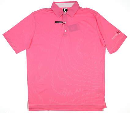 New W/ Logo Mens Footjoy Polo XX-Large XXL Pink 20477 MSRP $69.99