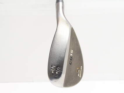 Cleveland CG15 Black Pearl Wedge Lob LW 58° 12 Deg Bounce Cleveland Traction Wedge Steel Wedge Flex Right Handed 35.5in