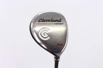 Cleveland Launcher Comp Fairway Wood 7 Wood 7W 22° Stock Graphite Shaft Graphite Stiff Right Handed 42.75in