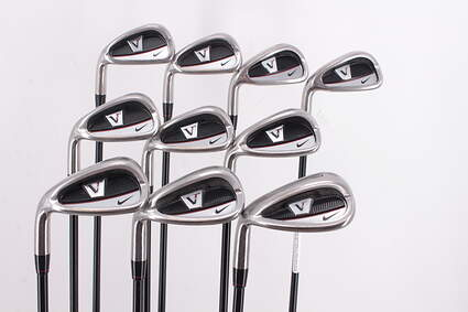 Nike Victory Red Cavity Back Iron Set 5-PW GW SW Nike Vr UST 80 Shaft Graphite Regular Left Handed 38.25in