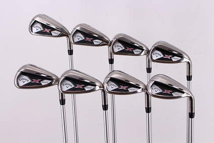 Callaway 2013 X Hot Womens Iron Set 5-PW GW SW Callaway X Hot Graphite Ladies Right Handed 37.25in