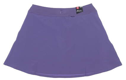 New Womens Under Armour Flare Golf Skort Medium M Purple UW6622 MSRP $70