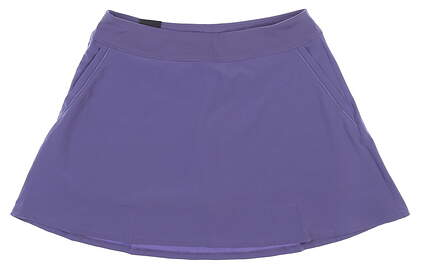 New Womens Under Armour Flare Golf Skort Large L Purple UW6622 MSRP $70
