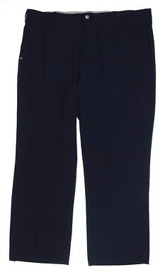 New Mens Adidas Golf Pants 38 x30 Navy Blue AF2715 MSRP $80