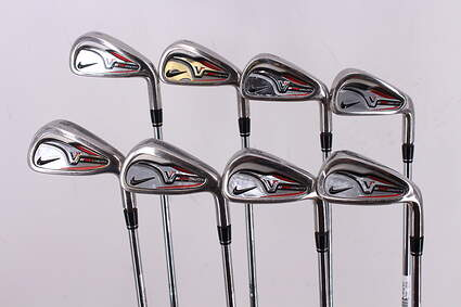 Nike Victory Red Pro Cavity Iron Set 4-PW GW True Temper Dynalite 110 Steel Stiff Right Handed 38.0in