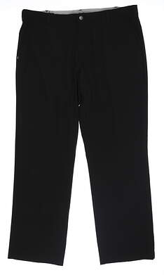 New Mens Adidas Golf Pants 38 x32 Black MSRP $80