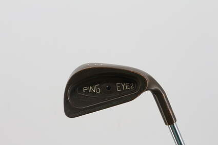 Ping Eye 2 Beryllium Copper Single Iron 3 Iron Ping Microtaper Steel Regular Right Handed Black Dot 38.75in