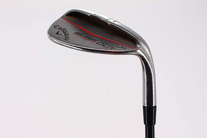 Callaway Sure Out Wedge Lob LW 64° 6 Deg Bounce Callaway 55 Gram Graphite Wedge Flex Right Handed 35.5in