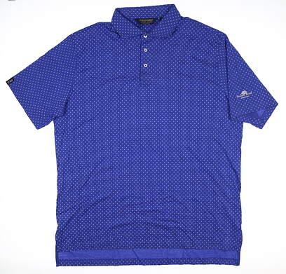 New W/ Logo Mens Ralph Lauren Golf Polo XX-Large XXL Blue SP18 MSRP $100
