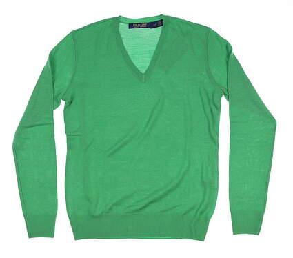 New Womens Ralph Lauren Golf Sweater Small S Green MSRP $150