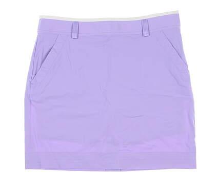 New Womens Ralph Lauren Golf Skort 10 Purple MSRP $120