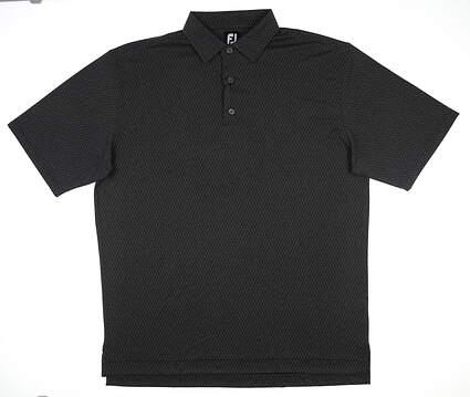 New Mens Footjoy Polo X-Large XL Black 25687 MSRP $75