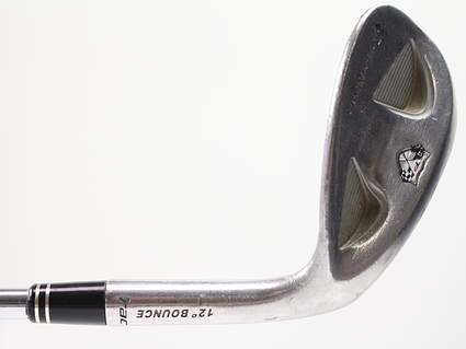 TaylorMade Rac Satin Tour TP Wedge Sand SW 56° 12 Deg Bounce Stock Steel Shaft Stiff Right Handed 35.5in