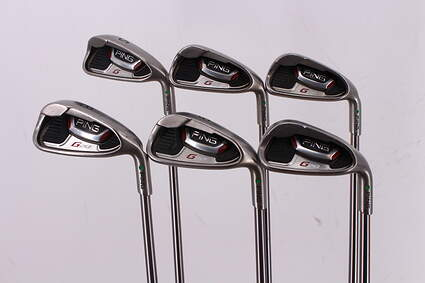 Ping G20 Iron Set 5-PW Ping TFC 169I Graphite Regular Right Handed Green Dot 38.0in