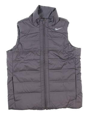 New Womens Nike Vest Large L Gray MSRP $90