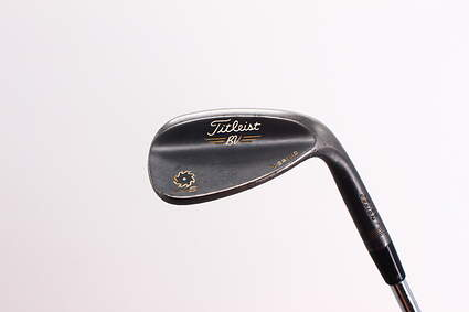 Titleist Vokey SM5 Raw Black Wedge Lob LW 58° 7 Deg Bounce S Grind Titleist SM5 BV Steel Wedge Flex Right Handed 35.0in
