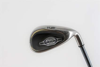 Callaway 2002 Big Bertha Single Iron 9 Iron Callaway RCH 65i Graphite Ladies Right Handed 34.75in