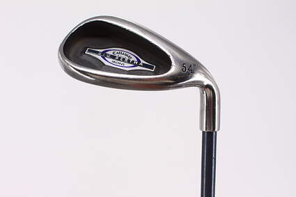 Callaway 2002 Big Bertha Wedge Sand SW 54° Callaway RCH 65i Graphite Ladies Right Handed 34.0in