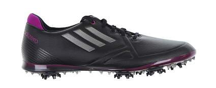 New W/O Box Womens Golf Shoe Adidas Adizero 6.5 Medium Black/Purple MSRP $60