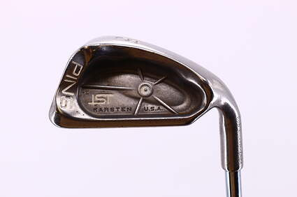Ping ISI Single Iron 8 Iron Stock Steel Shaft Steel Stiff Right Handed White Dot 37.25in