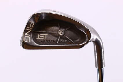 Ping ISI Single Iron 6 Iron Stock Steel Shaft Steel Stiff Right Handed White Dot 38.0in