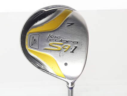 Cobra S9-1 F Fairway Wood 7 Wood 7W Cobra Aldila DVS-HL 55 Graphite Regular Right Handed 42.0in