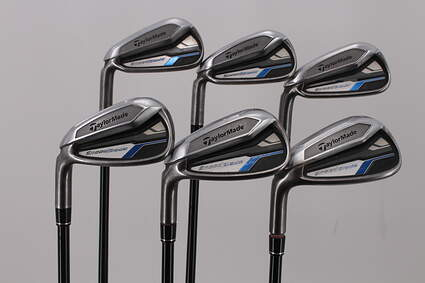 TaylorMade Speedblade Iron Set 5-PW TM Velox-T Graphite Graphite Stiff Left Handed 38.5in