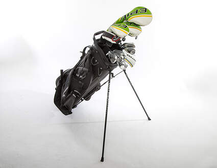 Callaway Mens Complete Golf Club Set Stiff Flex Left Handed Epic Flash Driver & Woods Apex Irons Odyssey Stroke Lab Putter w/ Bag MSRP $ 3199.99