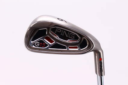 Ping G15 Single Iron 6 Iron Ping AWT Steel Stiff Right Handed Red dot 37.25in