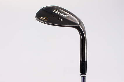 Cleveland CG15 Black Pearl Wedge Lob LW 60° 12 Deg Bounce Cleveland Traction Wedge Steel Wedge Flex Right Handed 36.0in